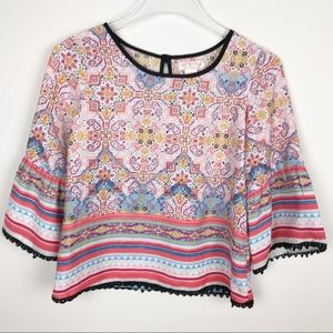 Band of Gypsies Blouse Size Large
